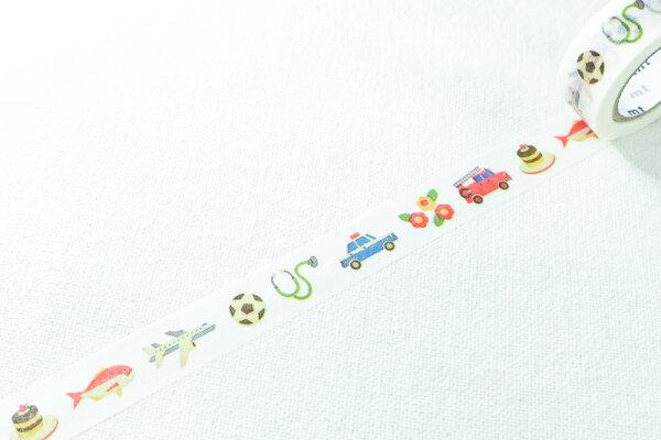*小徑文化*日本和紙膠帶 mt for kids -  物件 ( MT01KID017 )
