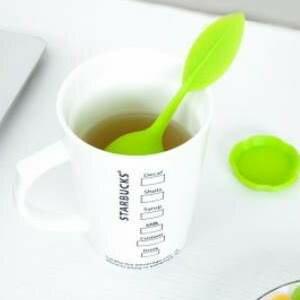 美麗大街【BF062E18】創意食品級矽膠泡茶器 不銹鋼茶葉過濾器 茶漏 泡茶球