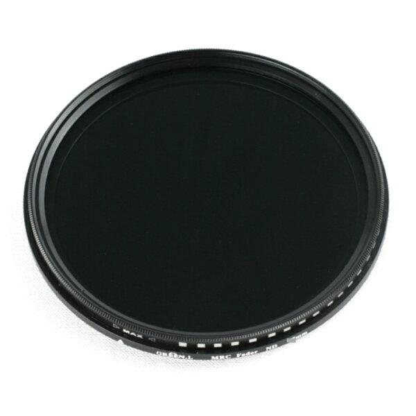 又敗家@ Green.L多層膜58mm無段ND2-400可調式減光鏡Vari(可做CPL偏光鏡,ND4 ND8 ND16 ND32 ND400減光鏡)Fader可調ND濾鏡ND減光鏡中灰鏡減光片