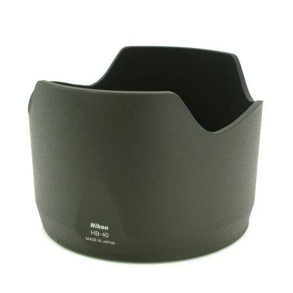 又敗家@原廠正品Nikon原廠遮光罩HB-40遮光罩適Nikkor AF-S 24-70mm f2.8G ED太陽罩蓮花罩lens hood f/2.8 G鏡皇新大三元,可反扣倒扣HB40