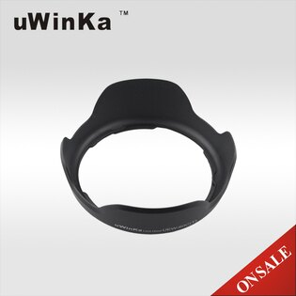 又敗家@uWinka副廠CANON花瓣型EW-60C蓮花遮光罩(可反扣,非原廠CANON遮光罩)EW60C適EF-S 18-55mm f3.5-5.6 IS USM EF 28-80mm 28-90mm f4- II III