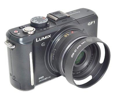 又敗家@國際Panasonic遮光罩Lumix G 14mm f2.5 20mm f1.7遮光罩( uWinka ,非原廠, 46mm螺紋) LH-46GF適 ASPH GF1 GF2 GH2 G3 G10 GF3