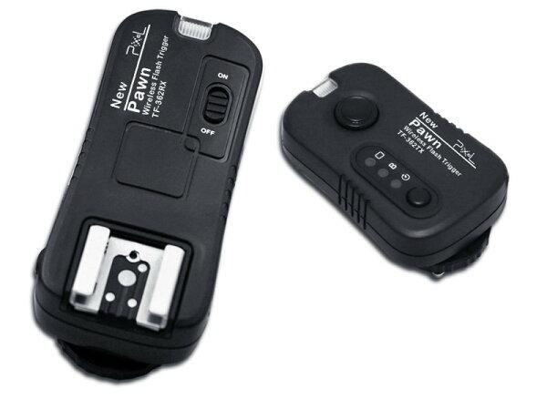 又敗家@品色PIXEL Panasonic Olympus引閃器觸發器兼無線電快門遙控器PAWN TF-364適FL-50R FL-36R DMW-FL360(NCC認證,可換不同相機連接線可控制不同機身)TF364 FL-50 FL-36閃光燈引閃器外閃引閃器閃燈引閃器觸發器發射器神燈,具有RM-UC1 DMW-RSL1功能,遠優於永諾RF-602