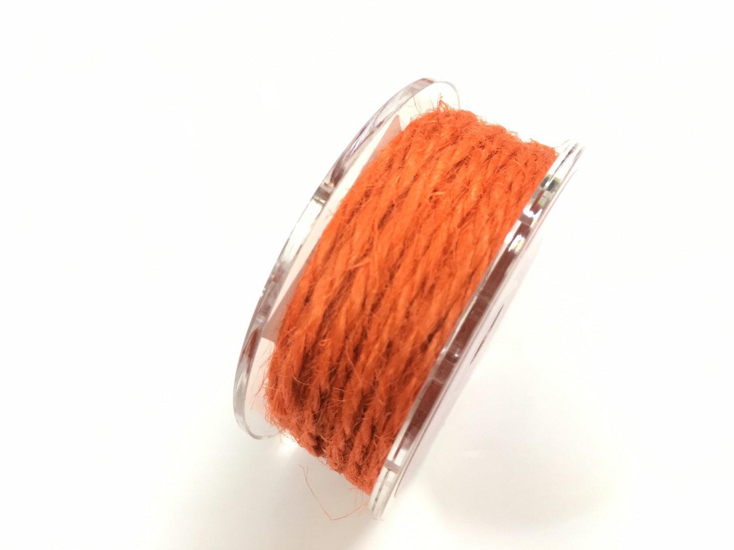 【Crystal Rose緞帶專賣店】單色素麻繩 2mm 5碼裝 (15色) 0
