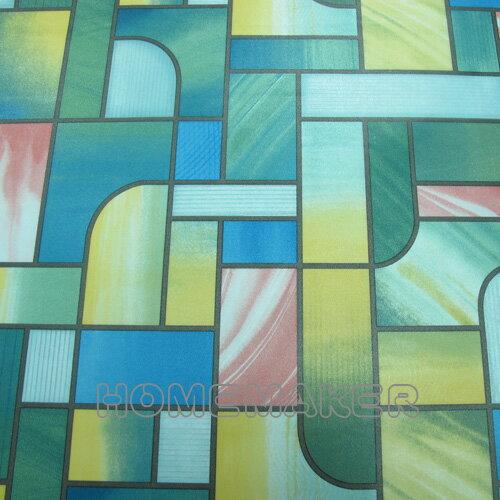 彩繪玻璃窗貼_GH-T031