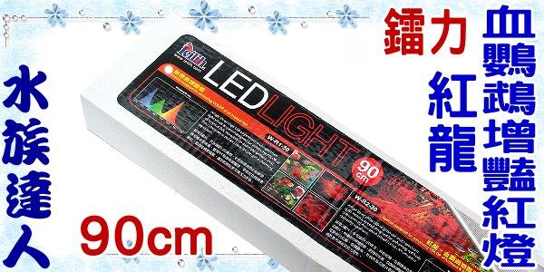 ~水族 ~鐳力Leilih~紅龍血鸚鵡增豔紅燈.90cm^(W~R2~30^)~LED 3