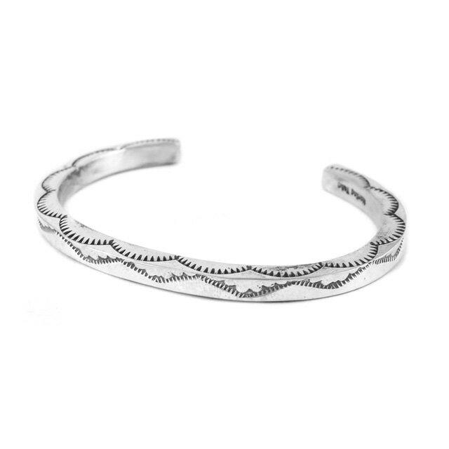 【海外訂購】【Indian Jewelry】印地安圖騰方形手鐲(花紋隨機出貨)(Navajo-026-R) 2