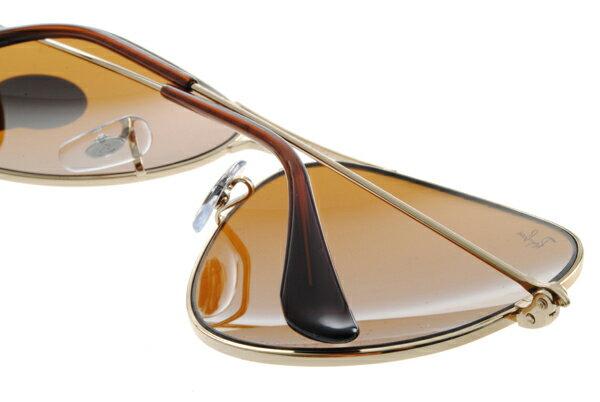 Ray Ban 雷朋 金邊茶色鏡片 RB3025 太陽眼鏡 5