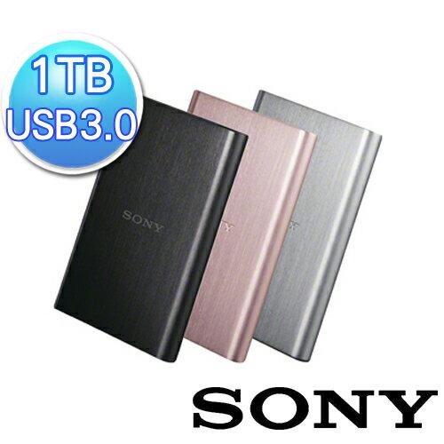 【SONY】1TB USB3.0外接式硬碟 HD-E1