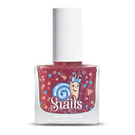 【安琪兒】法國【Snails希臘神話 】兒童水性無毒指甲油-拐杖糖 - 限時優惠好康折扣