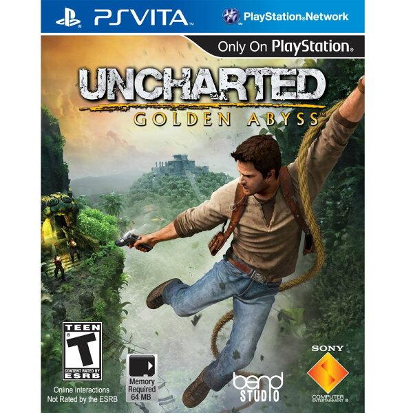 PSV 秘境探險:黃金深淵 英文美版 Uncharted: Golden Abyss
