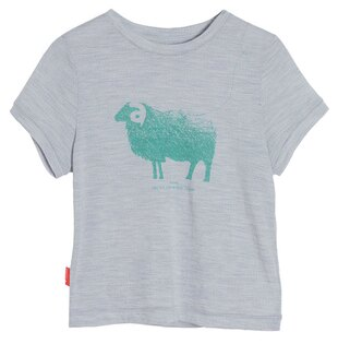 【鄉野情戶外用品店】 Icebreaker |紐西蘭| Tech Lite 美麗諾羊短袖上衣/羊毛排汗衣/IB103150 【兒童款】