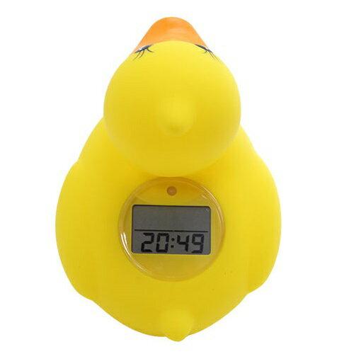 日本【genki bebi】液晶鴨電子室溫/水溫計 2
