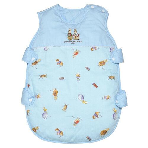 『121婦嬰用品館』狐狸村 精梳棉嬰幼兒冬夏兩用睡袍 0