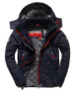 [男款]英國代購 極度乾燥 Superdry Wind Yachter 男士風衣戶外休閒外套 防水防風 海軍藍/紅色