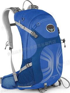 [ Osprey ] Stratos 24 登山背包/郊山背包 男款 透氣網架 藍/台北山水