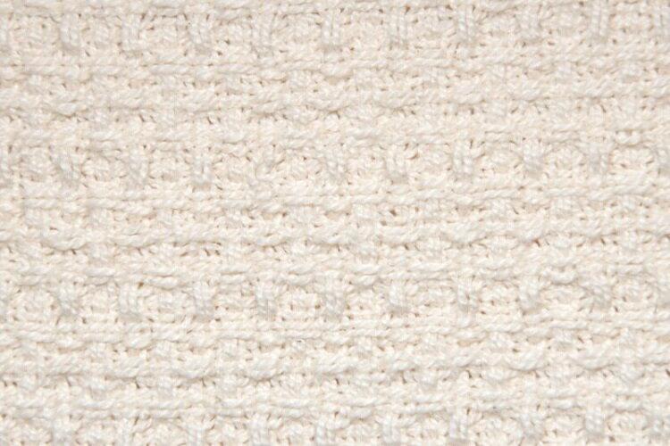 【安琪兒】美國Sophic Organics柔軟兒童有機棉毛線被毯 Waffle Natural 3