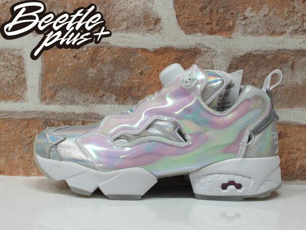 女鞋 BEETLE REEBOK PUMP FURY x DISNEY 灰姑娘 迪士尼 V65831 22.5CM 0
