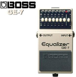 """【非凡樂器】BOSS GE-7等化效果器 Equalizer 等化微調器/可完美地擔任獨奏用的""""boost""""踏板/贈導線"""