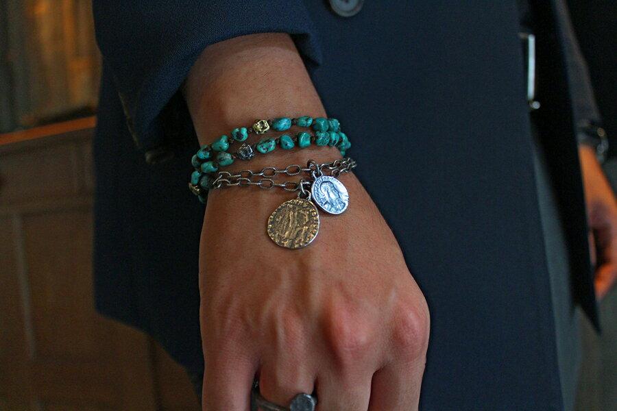 【現貨商品】【M.Cohen】3圈式希臘綠松石手環 (MC-B-10108 0676940000) 3