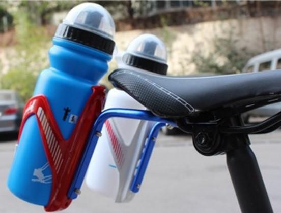 《附不銹鋼螺絲》X-FREE 座墊鋁合金雙水壺架轉接座 水壺架轉換器自行車鋁合金水壺架MINOURA stand可參考