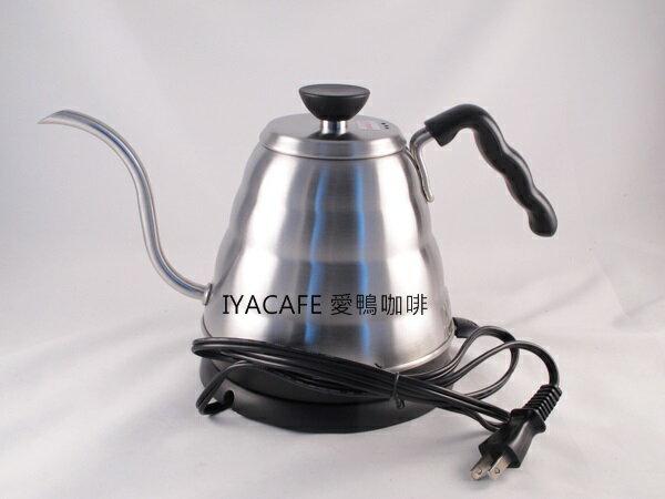 《愛鴨咖啡》HARIO EVKB-80HSV 不銹鋼 電熱開水壺 手沖壺 細口壺 800ml
