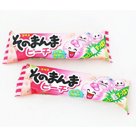 【敵富朗超巿】Coris 桃子口香糖 0