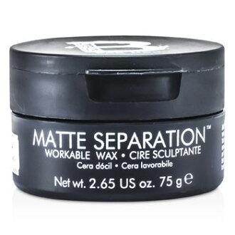 TIGI 男孩玩物髮蠟 75g B for Men Matte Separation Workable Wax ☆真愛香水★