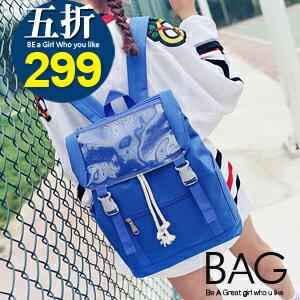 B.A.G*現+預*【BT-PF】經典學院風雙肩閨蜜後背包(現+預)-6色