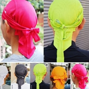 美麗大街【105011303】單車時尚多色海盜帽  單車機車帽巾