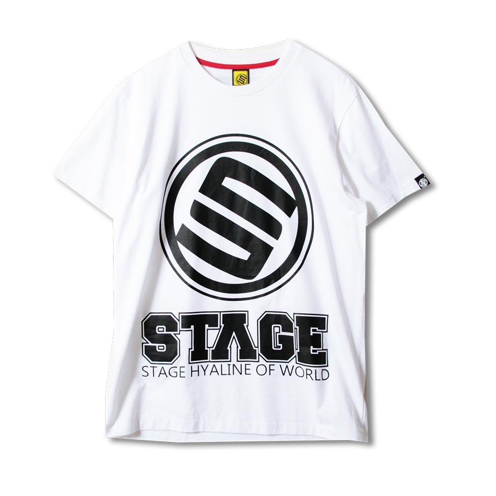 STAGE RETRO CLASSIC LOGO SS TEE  黑色/白色 兩色 3