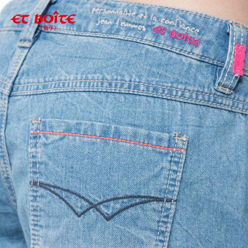 零著感輕旅短褲【ET BOîTE 箱子】 1