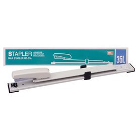 MAX HD~35L 可調式釘書機 訂書機^(深30cm^) 一台入^~定1200^~長臂