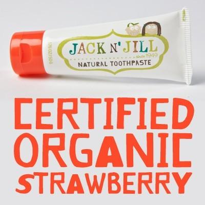 【澳洲 Jack n'Jill】Jack and Jill 金盞花天然兒童牙膏 (草莓口味)