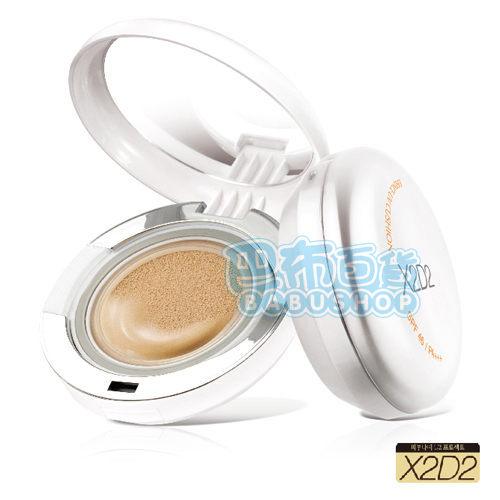 ISA KNOX X2D2 水凝BB舒芙蕾 (15g+補充包15gX2) SPF50+PA+++ 【巴布百貨】