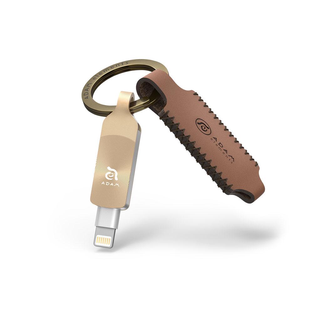 [預購] iKlips DUO + Apple 專用雙向USB 3.1 極速多媒體行動碟 32GB 2