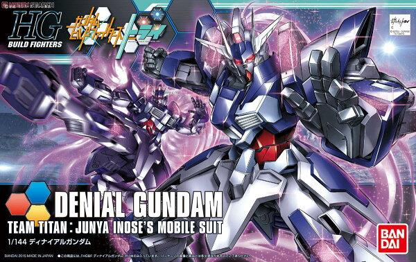 ◆時光殺手玩具館◆ 現貨 組裝模型 模型 鋼彈模型 BANDAI HGBF 1/144 機動戰士鋼彈 鋼彈創鬥者 阻絕 絕斥鋼彈 Denial Gundam