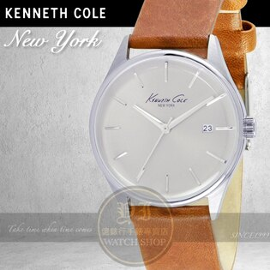 Kenneth Cole國際品牌都會紳士簡約時尚腕錶KC10029307公司貨/禮物/精品