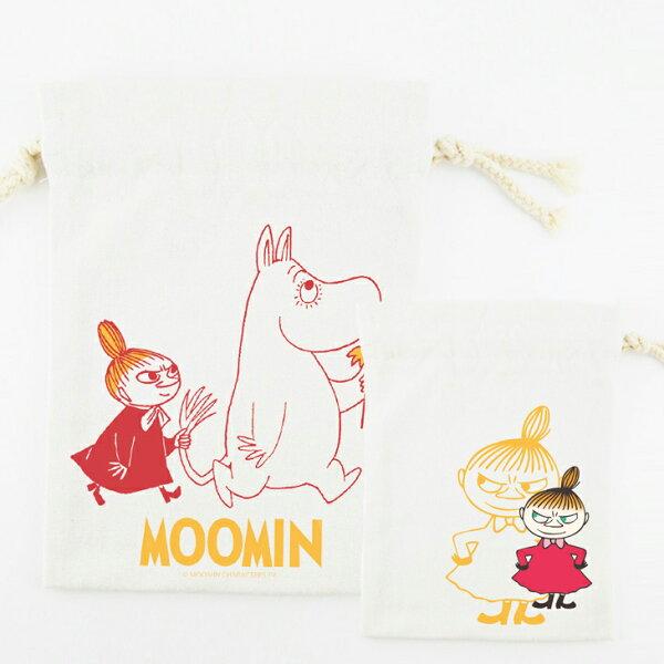 Moomin嚕嚕米授權 - 束口袋:【 跟屁蟲 】