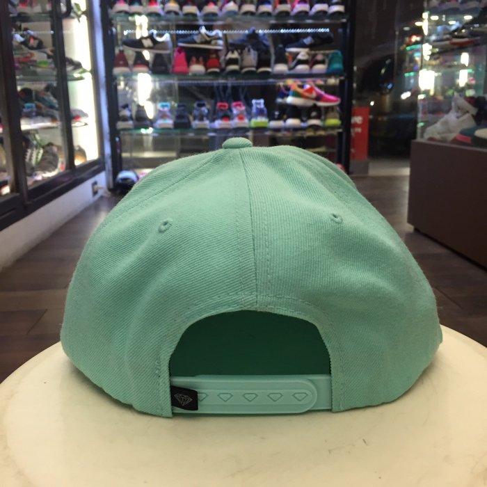 BEETLE PLUS 西門町 全新 DIAMOND SUPPLY CHAMPAGNE CAP TIFFANY綠 帽 D14DHA18DBU DA-17 2