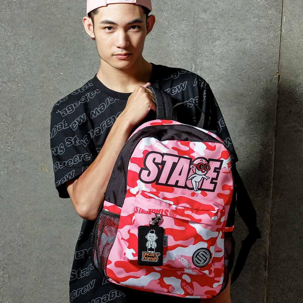STAGE BAG × UNCLES FRIENDS PISCES BACKPACK 粉紅色 雙魚座 0