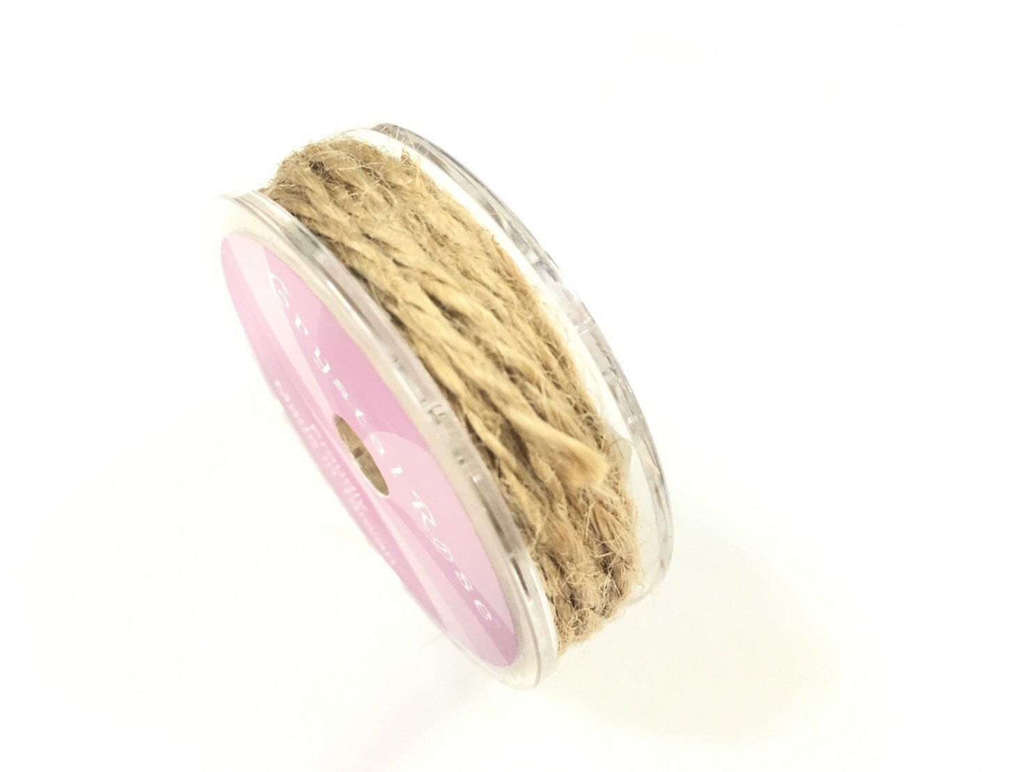 【Crystal Rose緞帶專賣店】單色素麻繩 2mm 5碼裝 (15色) 7