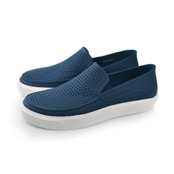 Crocs 休閒鞋 黑 男款 no364