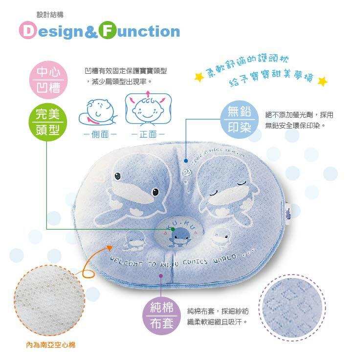 『121婦嬰用品館』KUKU 柔柔護頭枕 5