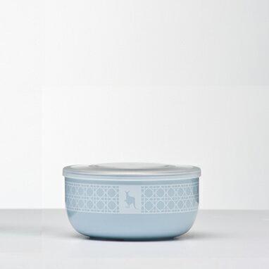 美國【Kangovou】小袋鼠不鏽鋼安全點心碗-四色 0
