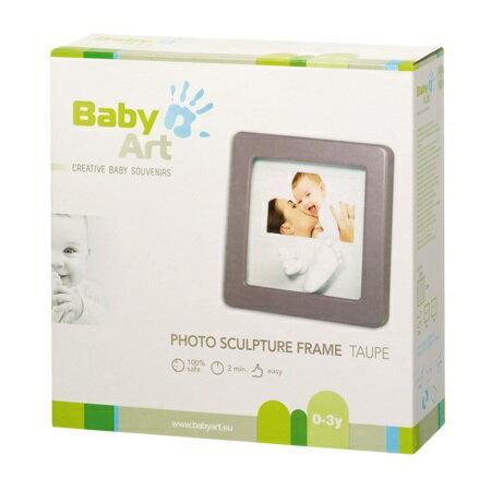 比利時【Baby Art】寶寶手腳雕塑相框(白) 3