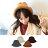 毛帽 翻檐折疊盆帽漁夫帽針織毛帽【QI1072】 BOBI  10/13 0