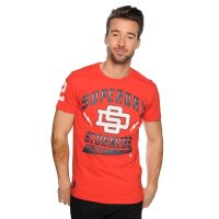 Superdry極度乾燥商品推薦美國百分百【Superdry】極度乾燥 T恤 T-shirt 短袖 短T 風暴人隊 Stormers 紅 S號 F359
