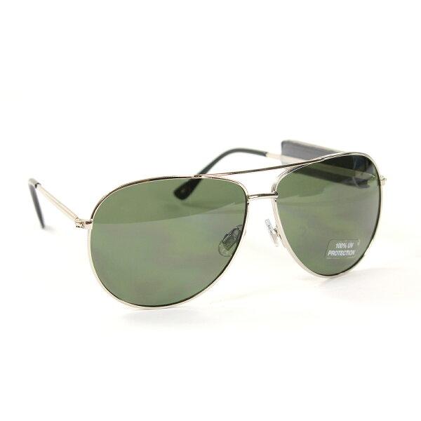 美國百分百【Tommy Hilfiger】太陽眼鏡 TH 墨鏡 配件 眼鏡 抗UV 飛行 銀框 綠鏡片 F366