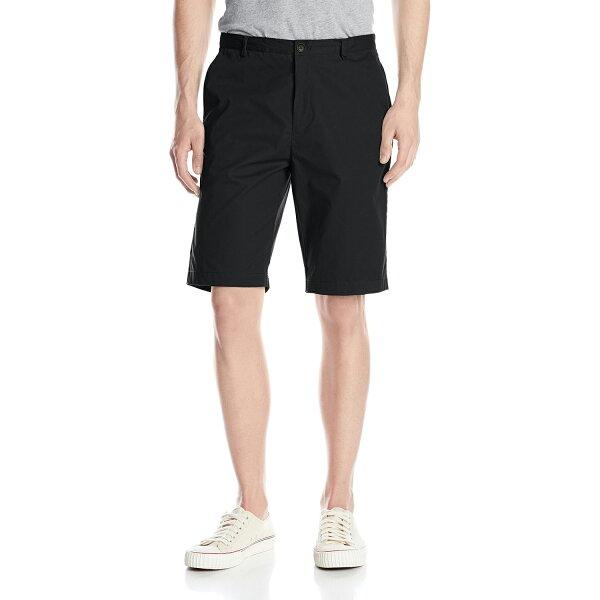 美國百分百【全新真品】Calvin Klein 短褲 CK 休閒褲 百慕達褲 五分褲 素面 黑色 男 30腰 F544